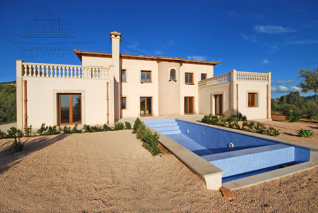 Neubaufinca Mallorca, Luxusimmobilien Südostküste, Immobilienkauf, new construction majorca, luxurious real estate south east coast real estate sale